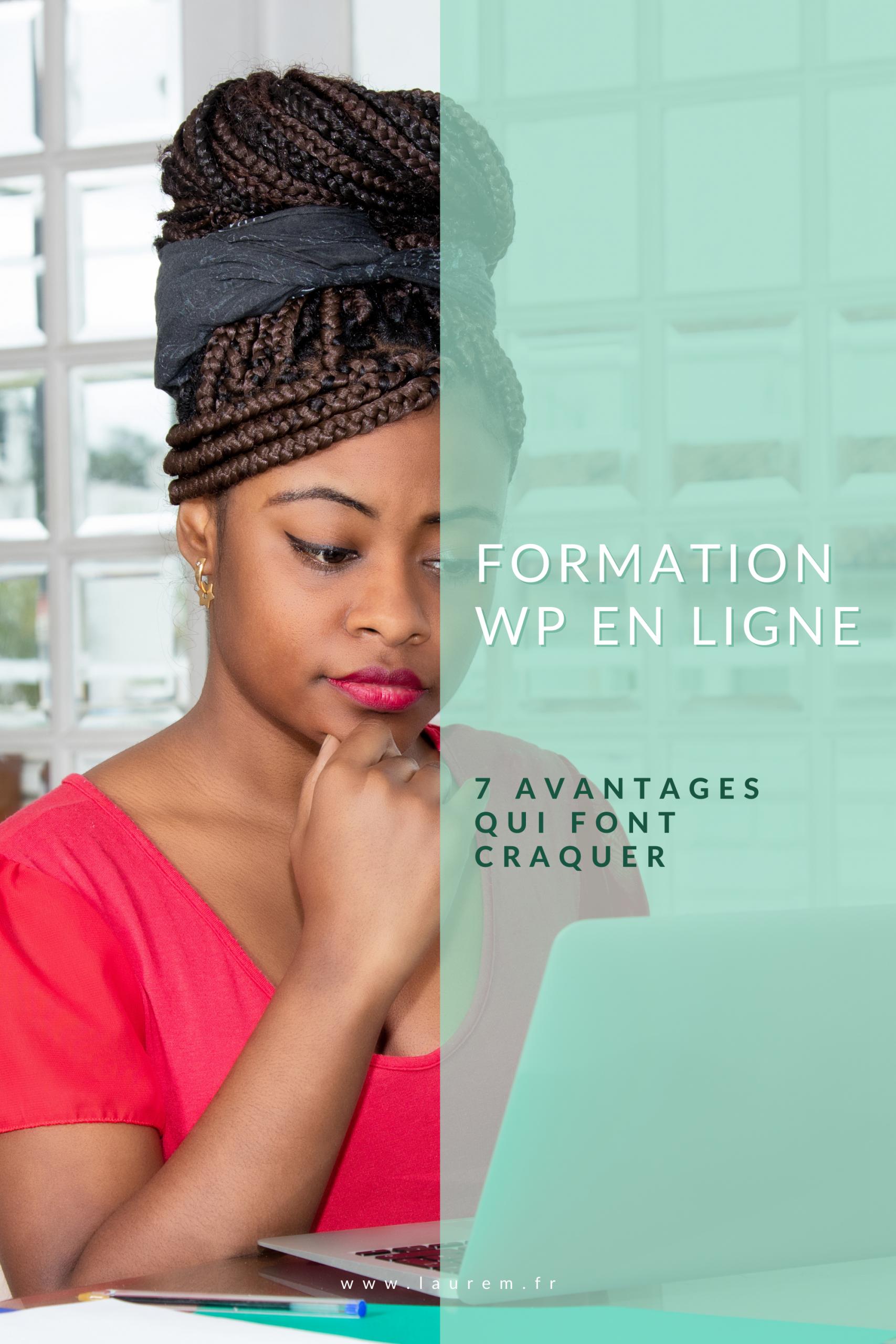 Envie de suivre une formation WordPress ? La formation WordPress en ligne présente de nombreux avantages où tu n'es pas toujours seule derrière ton écran.